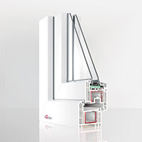 Plastová okna Rehau Euro-Design 70