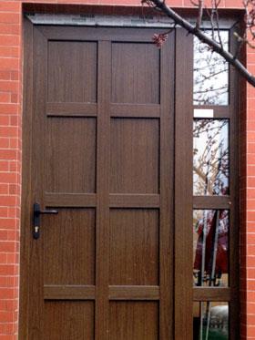 Reference - vchodové dveře