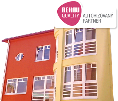 Plastová okna - profil Rehau
